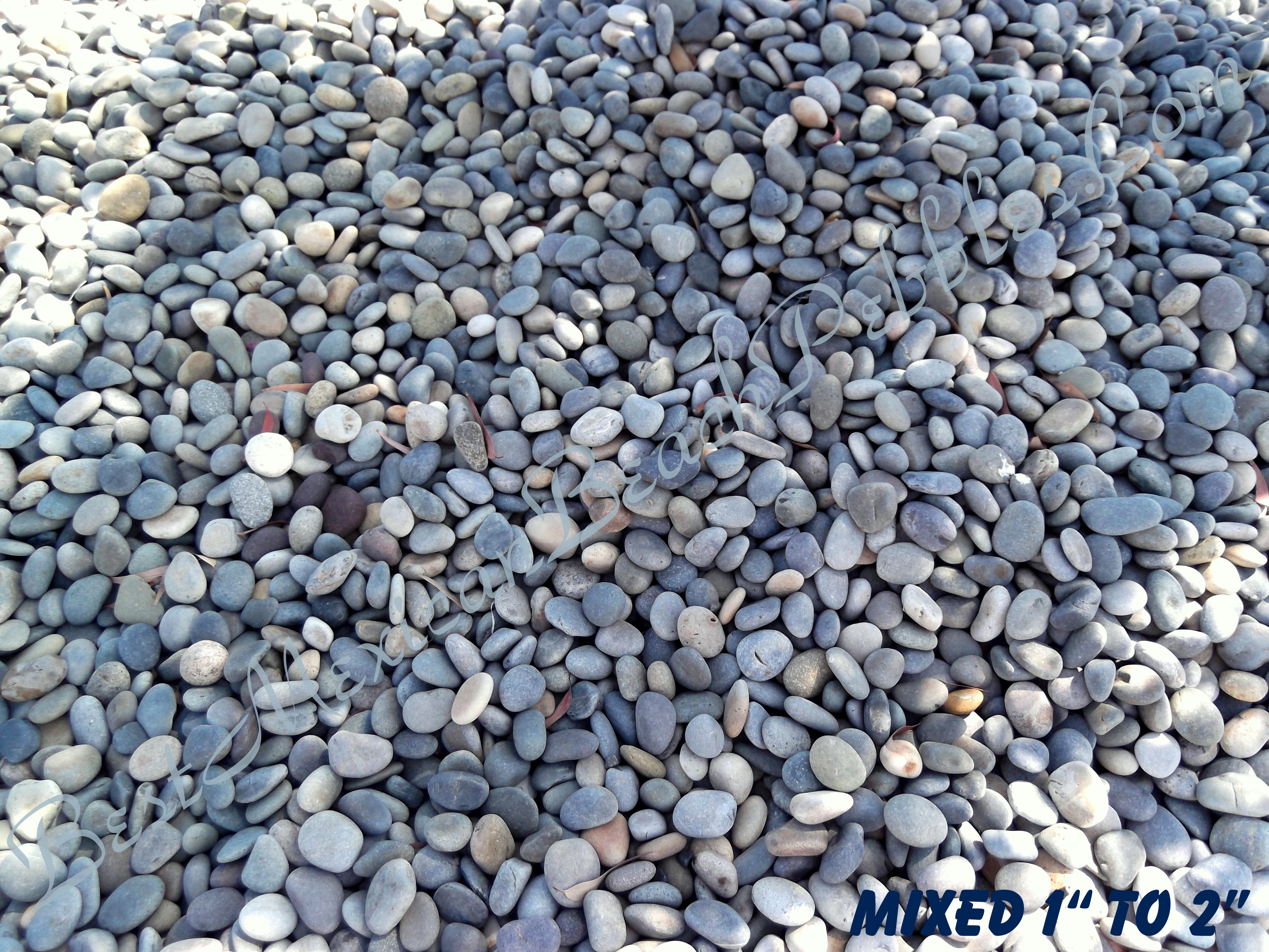 Mexican Beach Pebbles River Rock Landscaping Pebbles